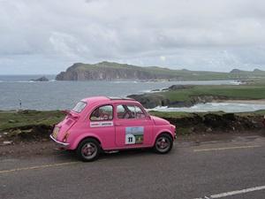 "Una 500 rosa in Irlanda (Rallye Gazoline ""Celtica"")"