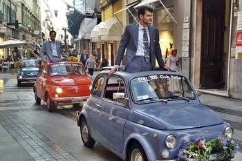 """Moda Uomo"", le 500 incantano Sanremo"