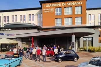 Festa dei Nonni, le 500 in una RSA a Senago