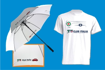 T-shirt e ombrello per il 36° Meeting