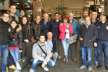Visita alle Officine Abarth