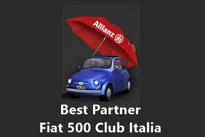 Allianz Best Partner del Fiat 500 Club Italia