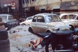 Firenze, 50 anni fa l'alluvione