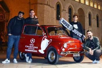 #AltamuraToCardiff in 500 per la Juventus