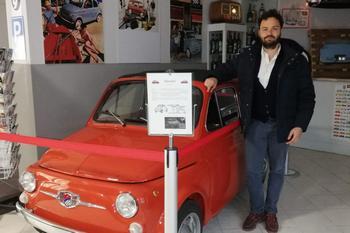 Visita al Museo di Davide Chiorra, proprietario della Giannini 350 EC