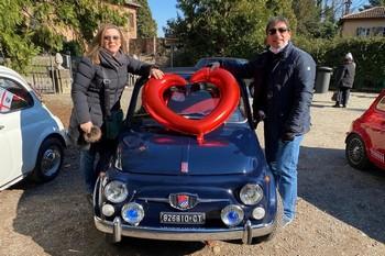 San Valentino in 500 a Milano