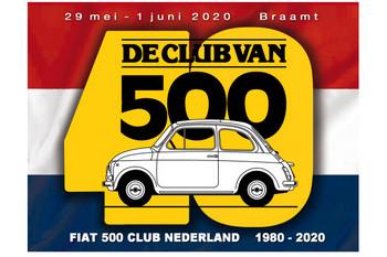 40 anni del Fiat 500 Club Nederland - Viaggio in Olanda