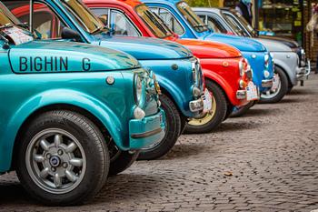 """""""Made in Italy"""" per ripartire - Le 500 storiche ad Albenga"""
