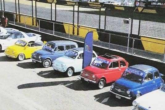 Le Fiat 500 australiane alla Festa della Repubblica