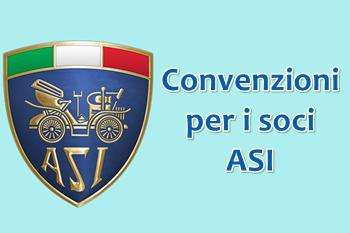 Convenzioni per i soci iscritti all'ASI