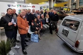 Automotoretrò - La partecipazione del Fiat 500 Club Italia