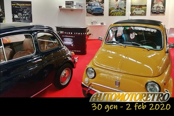 Automotoretrò 2020 - La presenza del Fiat 500 Club Italia