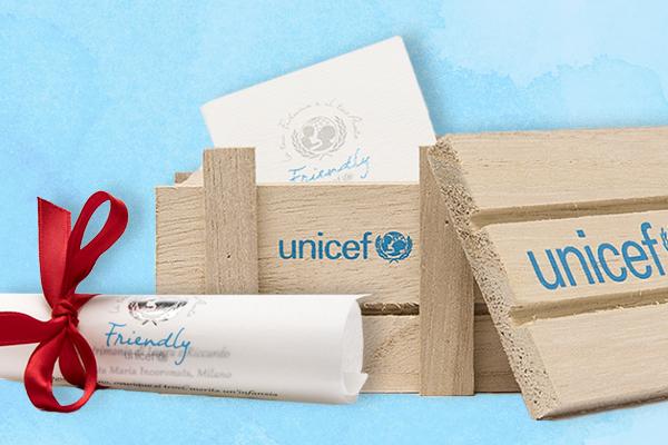 Bomboniere Unicef - Friendly