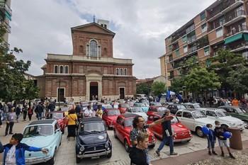 Cinquini Rombanti #3 - Raduno in 500 a Milano