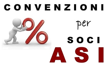 Convenzioni per i tesserati ASI