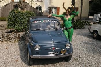 Cosplay senza età con le Fiat 500 a Trivignano Udinese