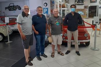 Visita al Museo del fiduciario Luigino Costaz