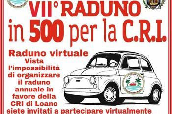 """Raduno virtuale """"In 500 per la Croce Rossa"""""""