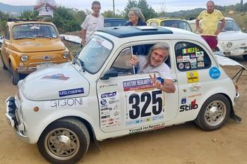 Una 500 al Rally Elba Storico