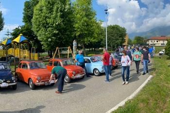 """Raduno Fiat 500 Club Italia a """"Fiano ci cova"""""""