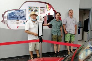 Dall'Olanda a Garlenda per i preparativi del Fiat 500 World Wide Meeting