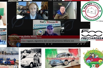 Incontri Virtuali - Le 500 e il Covid19 #iorestoacasa