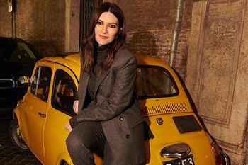 Laura Pausini e la 500, due fuoriclasse