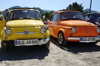 37° Meeting Internazionale Fiat 500 di Garlenda: la prima versione del programma
