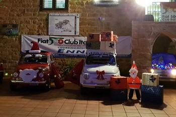 La magia del Natale e delle Feste al Museo della 500 di Calascibetta