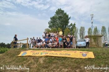 Il Fiat 500 World Wide Meeting a Oleggio-Berengo