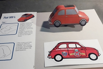 La Repubblica - I miti dell'auto in modellini di carta da costruire