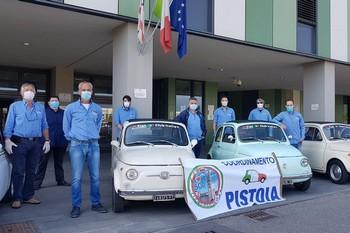 Donazione Covid all'Ospedale di Pistoia