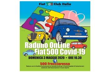 Raduno Online Fiat 500 pro Covid Hospital di Camerino