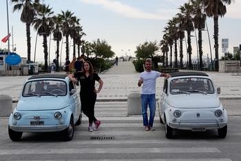 Viaggio in 500 in giro per l'Italia