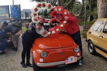 San Valentino a Spotorno con le Fiat 500