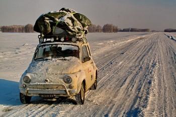 Dal diario di Viaggio di Michele Squeri - Una 500 in Kazakistan
