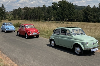 Classic Fiat 500 Lunch Run South Africa