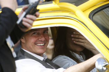Tom Cruise e Hayley Atwell - Mission Impossible... con Fiat 500 a Roma!