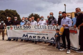 Vito Tarantola - nuovo fiduciario di Marsala per il Fiat 500 Club Italia