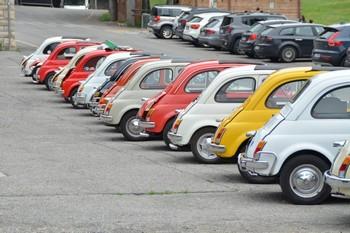 Fiat 500 World Wide Meeting a Brescia