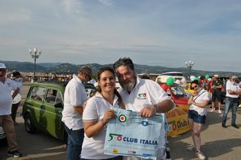 Il Fiat 500 World Wide Meeting a Firenze