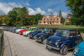 Il Fiat 500 World Wide Meeting a Sant'Olcese