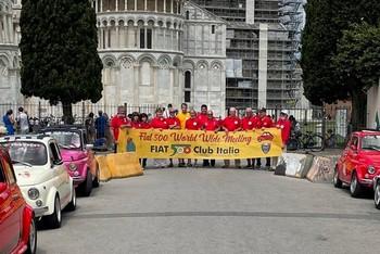 Il Fiat 500 World Wide Meeting a Pisa e Vicopisano