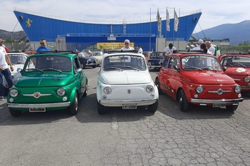 Il Fiat 500 WWM a Montemurlo (PO)