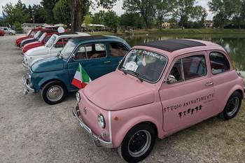 Il Fiat 500 World Wide Meeting a Rivalta (RE) e Campogalliano (MO)