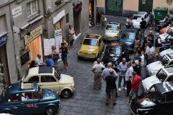 Genova, aperitivo in 500