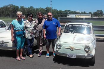 Amicizia italo-australiana in nome della Fiat 500