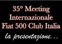 Banner presentaz 35° Meet