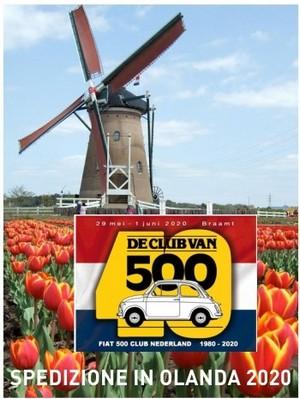 Spedizione in Olanda 2020