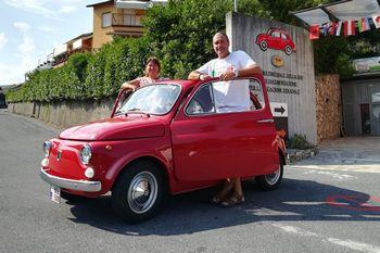 """Bol, la 500 #SlowDrive in visita al Museo """"Dante Giacosa"""""""
